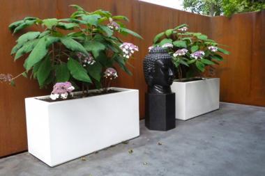 Pflanzenkübel Polyester