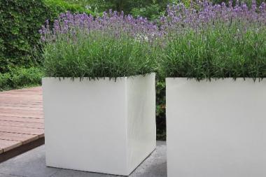 Pflanzenkübel Aluminium