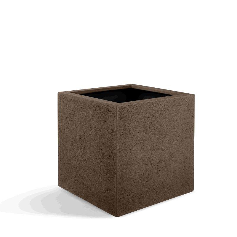 Pflanzenkübel London Cube 60 (60x60x60) - Hellbraun